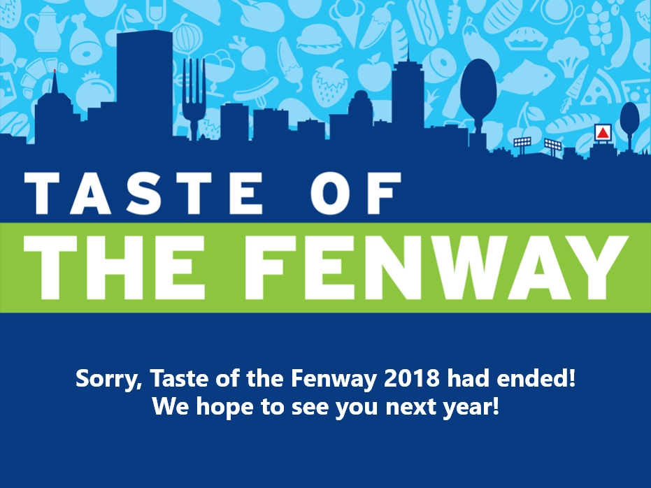 Taste of the Fenway 2018 has ended!